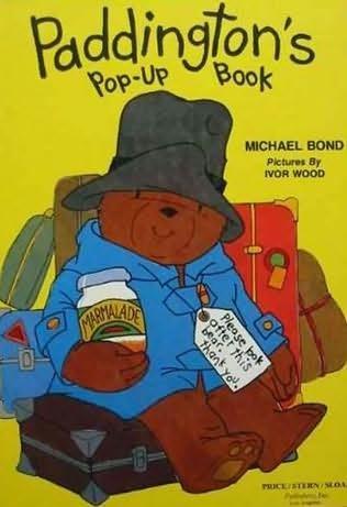 book cover of Paddington\'s Pop Up