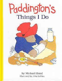 book cover of Paddington\'s Things I Do