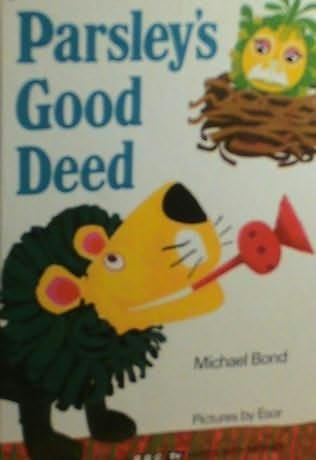 book cover of Parsley\'s Good Deed