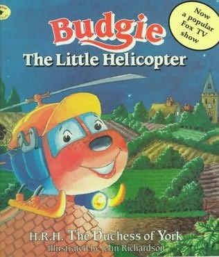 book cover of Budgie the Little Helicopter