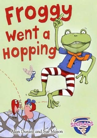 book cover of Froggy Went a Hopping