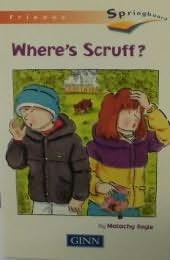 book cover of Where\'s Scruff?