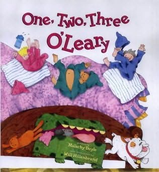 book cover of One, Two, Three O\'leary