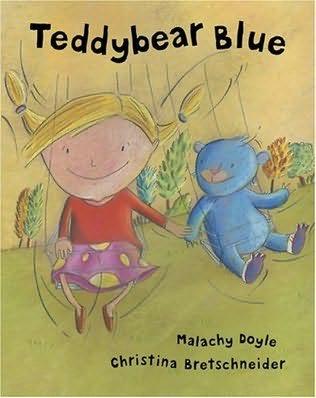 book cover of Teddybear Blue