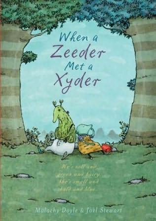 book cover of When a Zeeder Met a Xyder