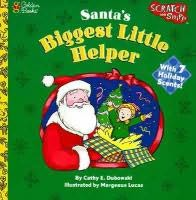 book cover of Santa\'s Biggest Little Helper