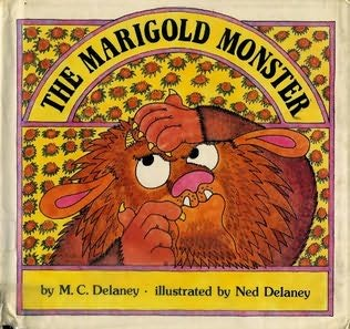 book cover of The Marigold Monster