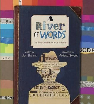 book cover of A River of Words