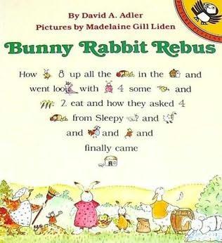 book cover of Bunny Rabbit Rebus