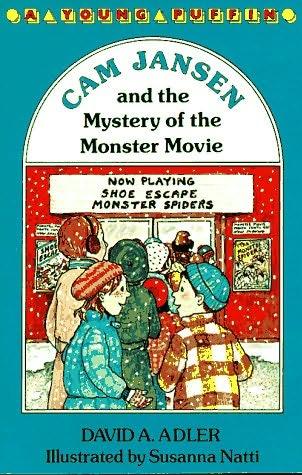 book cover of The Mystery of the Monster Movie