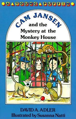 book cover of The Mystery Of The Monkey House