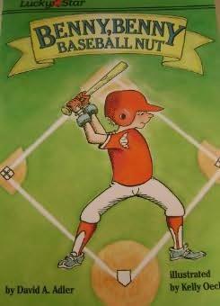 book cover of Benny, Benny, Baseball Nut