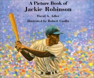 book cover of Jackie Robinson