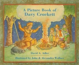 book cover of Davy Crockett