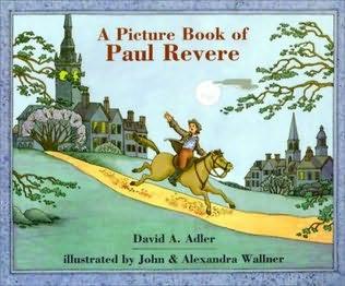 book cover of Paul Revere