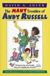 book cover of Many Troubles of Andy Russell