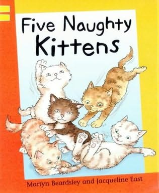 book cover of Five Naughty Kittens