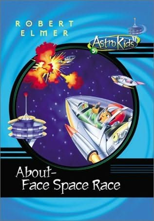 book cover of About-face Space Race