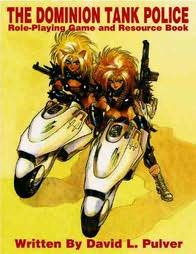 book cover of The Dominion Tank Police