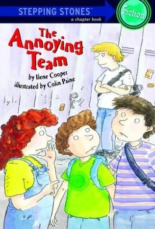 book cover of The Annoying Team