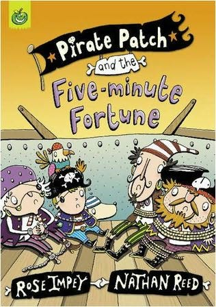 book cover of Pirate Patch and the Five-minute Fortune
