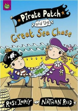 book cover of Pirate Patch and the Great Sea Chase
