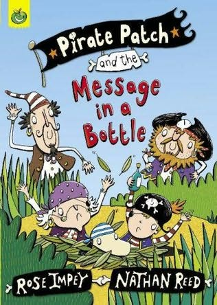 book cover of Pirate Patch and the Message in a Bottle