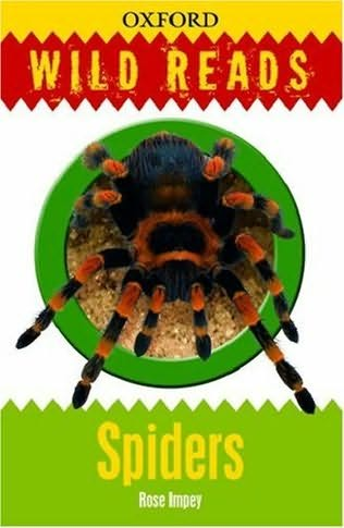 book cover of Wild Reads: Spiders