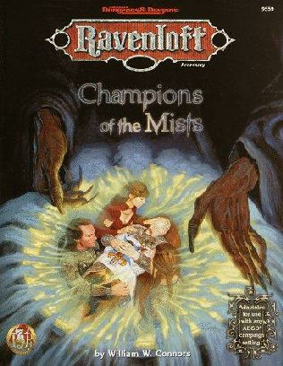 book cover of Champions of the Mists