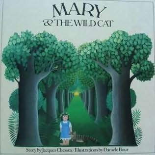 book cover of Mary and the Wild Cat