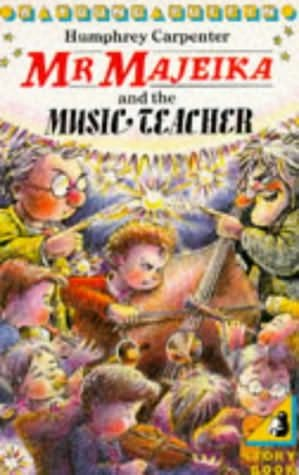 book cover of Mr Majeika and The Music Teacher