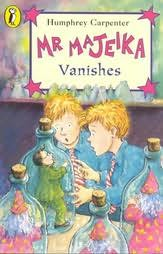 book cover of Mr. Majeika Vanishes