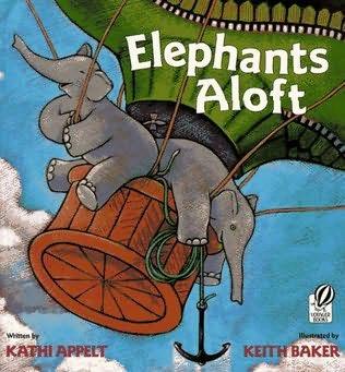 book cover of Elephants Aloft