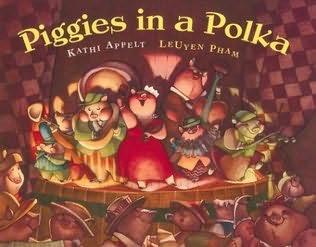 book cover of Piggies in a Polka