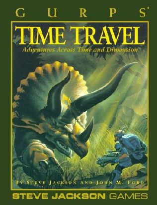 book cover of Gurps Time Travel