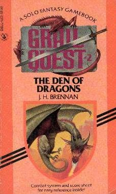 book cover of Den of Dragons