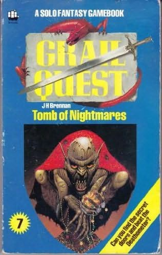 book cover of Tomb of Nightmares