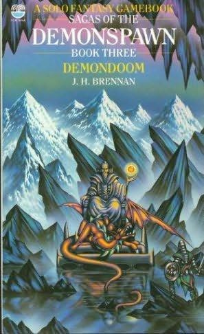 book cover of Demondoom