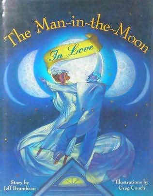 book cover of The Man in the Moon in Love