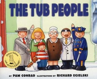 book cover of The Tub People