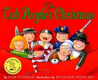 book cover of The Tub People\'s Christmas