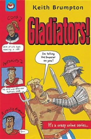 book cover of Gladiators!