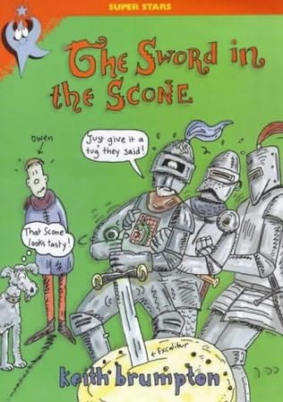 book cover of The Sword in the Scone