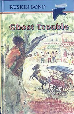 book cover of Ghost Trouble