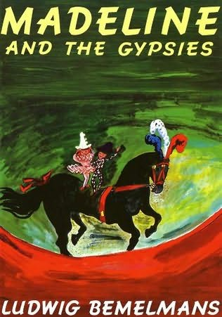book cover of Madeline and the Gypsies