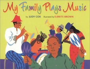 book cover of My Family Plays Music