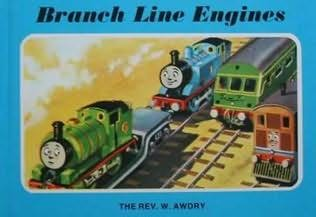 book cover of Branch Line Engines