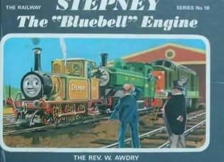 book cover of Stepney, The Bluebell Engine