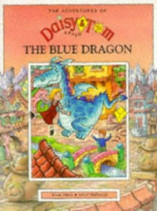 book cover of Daisy and Tom and the Blue Dragon