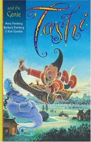 book cover of Tashi and the Genie